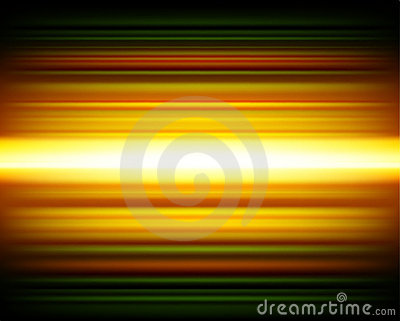Bright yellow and green lines
