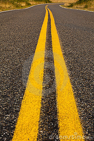Free Bright Yellow Lines Stock Photography - 21534522