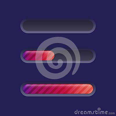 Brightly Colored Progress Bar