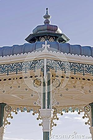 ornate bandstand
