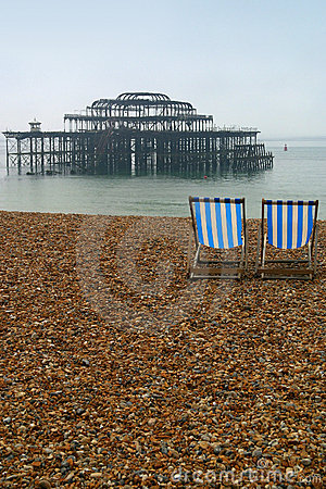 Free Brighton Beach Royalty Free Stock Photography - 1490177