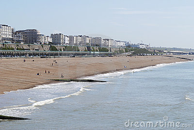Brighton Beach. East Sussex. UK