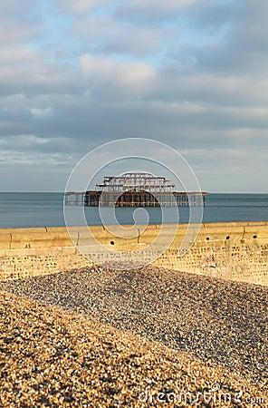 Brighton east pier england