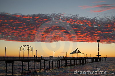Brighton Jetty Sunset