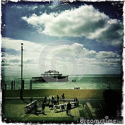 Brighton - Mobile Editorial Stock Image