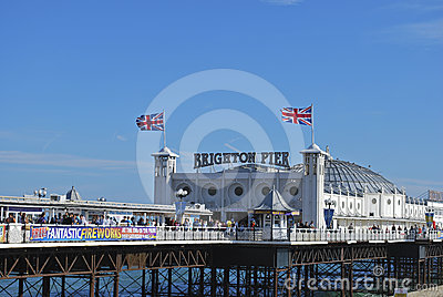 Brighton Palace Pier, England Editorial Stock Image