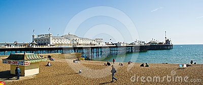 Brighton Pier Editorial Photo