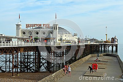 Brighton pier Editorial Stock Image