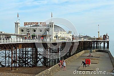 Brighton pier Editorial Stock Image