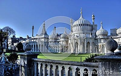 Brighton Royal Pavilion Stock Photos - Image: 9262723