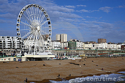 Brighton Seafront Editorial Photography