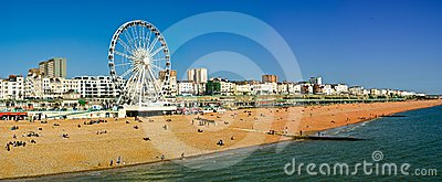 Brighton seafront Editorial Image