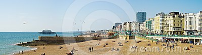 Brighton seafront Editorial Stock Image