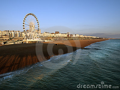 Brighton seafront UK