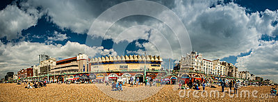 Brighton skyline Editorial Stock Image