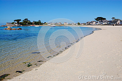 Brignogan bay, bretagne, france