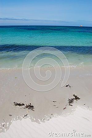 Brignogan beach, bretagne, france