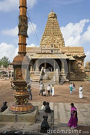 Brihadishvara Temple - Thanjavur - India Editorial Image