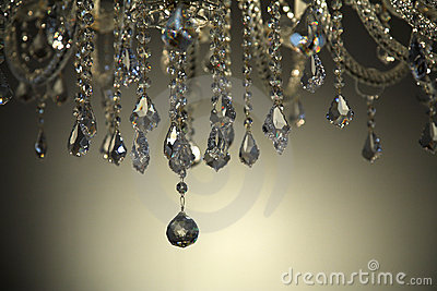 Brilant cut glass chandelier