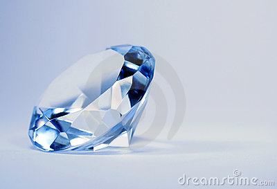 Brillian blue diamond