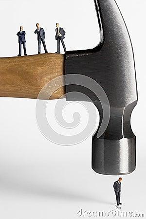 Bringing the hammer down