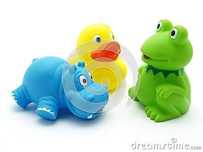 Brinquedos plásticos