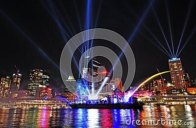 The Brisbane City Festival of Lights September 12