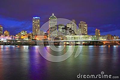 Brisbane City Night