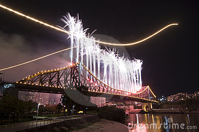 Brisbane City Riverfire