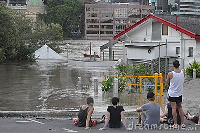 Brisbane Floods 5 Editorial Stock Photo