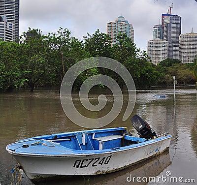 Brisbane Floods3 Editorial Stock Photo