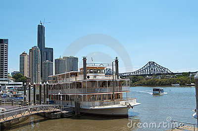 Brisbane River Cruise Editorial Photography