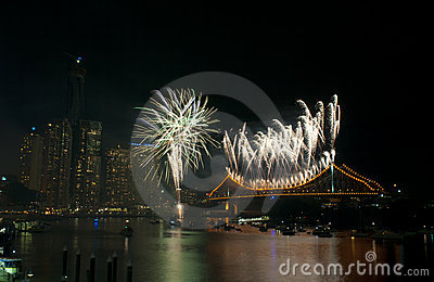 Brisbane Riverfire, 2011 Editorial Image