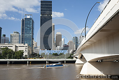 Brisbane s South bank.