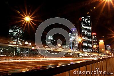 Brisbane Skyline.