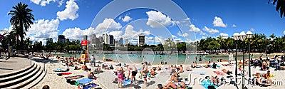 Brisbane Southbank Editorial Image