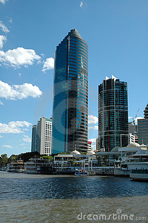 Brisbane Tower Stock Photo