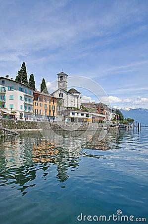 Brissago,Ticino,Lake Maggiore,Switzerland