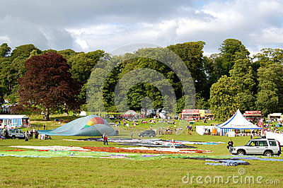 Bristol International Balloon Fiesta Editorial Stock Photo