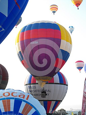 Bristol International Balloon Fiesta Editorial Stock Image