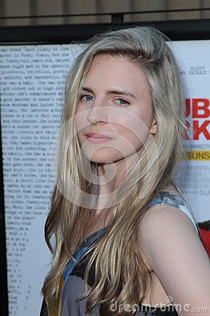 Brit Marling,Sparks Editorial Stock Photo