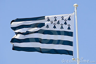 Breton  brittany flag