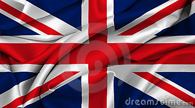 Britain flagga stor uk