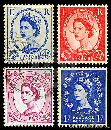 Britain Postage Stamps