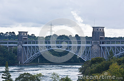 Britannia Bridge, North Wales