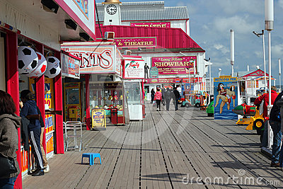 Britannia pier, Great Yarmouth. Editorial Photo