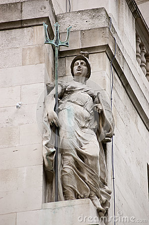 Britannia Statue, City of London