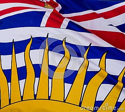 Britisch-Columbia-Flagge