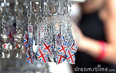 BRITISCHE Andenken für Touristen
