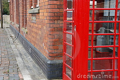 Britischer Telefonstand